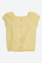 Load image into Gallery viewer, Yellow Plain Blouse