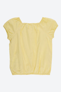 Yellow Plain Blouse