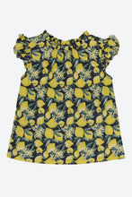 Load image into Gallery viewer, Yellow Lemon Printed Blouse