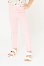 Load image into Gallery viewer, Pink Plain  Jegging