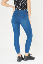 Load image into Gallery viewer, Mid Blue Skinny-Fit Jean