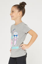 Load image into Gallery viewer, Grey Graphic Print Tshirt