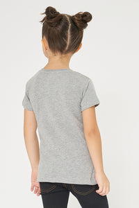 Grey Graphic Print Tshirt
