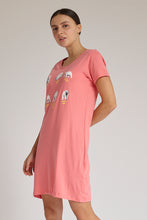 Load image into Gallery viewer, Pink Bears Print Nightshirt