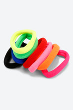 Load image into Gallery viewer, Multi Colour Pack Of 8 Hair Bobbles Elastics