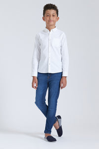 White Plain Oxford Shirt