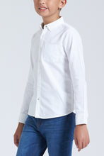 Load image into Gallery viewer, White Plain Oxford Shirt