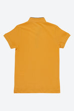 Load image into Gallery viewer, Mustard Mandarin Collar Polo