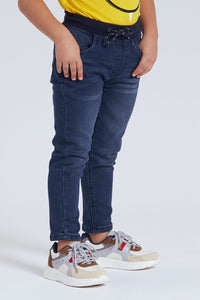 Blue Pull-On Jean