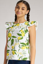Load image into Gallery viewer, Lemon Print Blouse