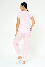 Load image into Gallery viewer, Pink Hello Printed Pyjama Set