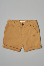 Load image into Gallery viewer, Beige Chino Shorts