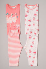 Load image into Gallery viewer, Pink Flamingo Print Pyjama Sets (2-Pack)
