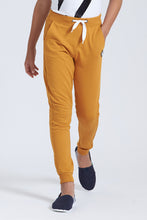 Load image into Gallery viewer, Mustard Knit Track Pant