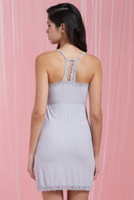 Load image into Gallery viewer, Grey Fine Rib Chemise