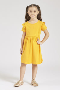 Yellow Summer Knit Dress Pack of 2