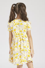 Load image into Gallery viewer, Yellow Summer Knit Dress Pack of 2