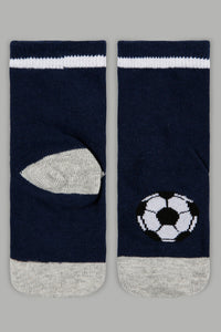 Assorted Sports Print Socks (4 Pack)