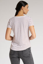 Load image into Gallery viewer, Pink Plain/Stripe T-Shirt (2-Pack)