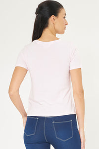 Pale Pink Photographic Print T-Shirt