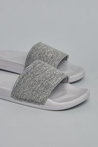 Grey Melange Slide