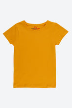 Load image into Gallery viewer, Yellow Jacquard T-Shirt