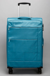 "Blue Zip Pockets Soft Case - Large (28"")"