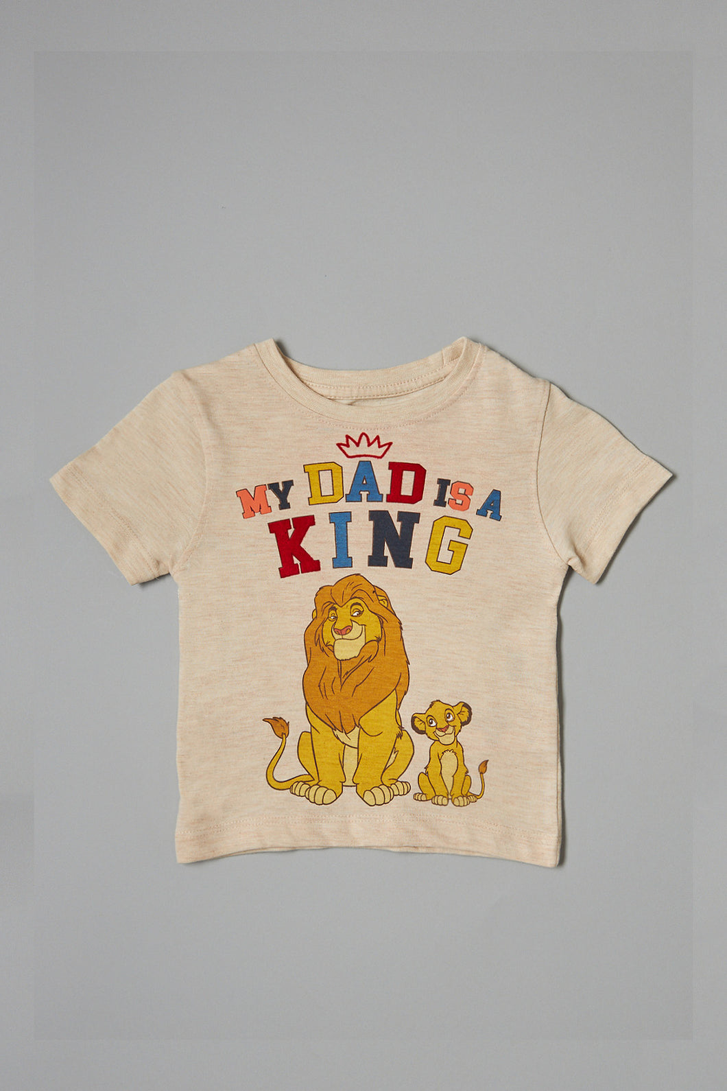 Beige Lion King T-Shirt