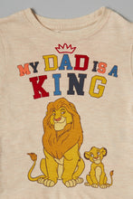Load image into Gallery viewer, Beige Lion King T-Shirt