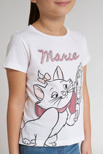 Load image into Gallery viewer, White Marie T-Shirt