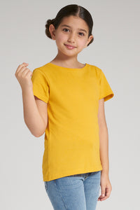 Yellow Jacquard T-Shirt