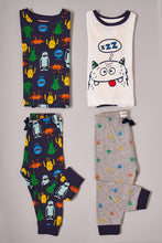 Load image into Gallery viewer, Assorted Little Monsters Print Pyjama Sets (2-Pack)