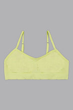 Load image into Gallery viewer, Coral/Neon Green Seamless Jacquard Bra (2-Pack)