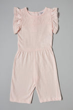 Load image into Gallery viewer, Pink Jumpsuit Lace On Front