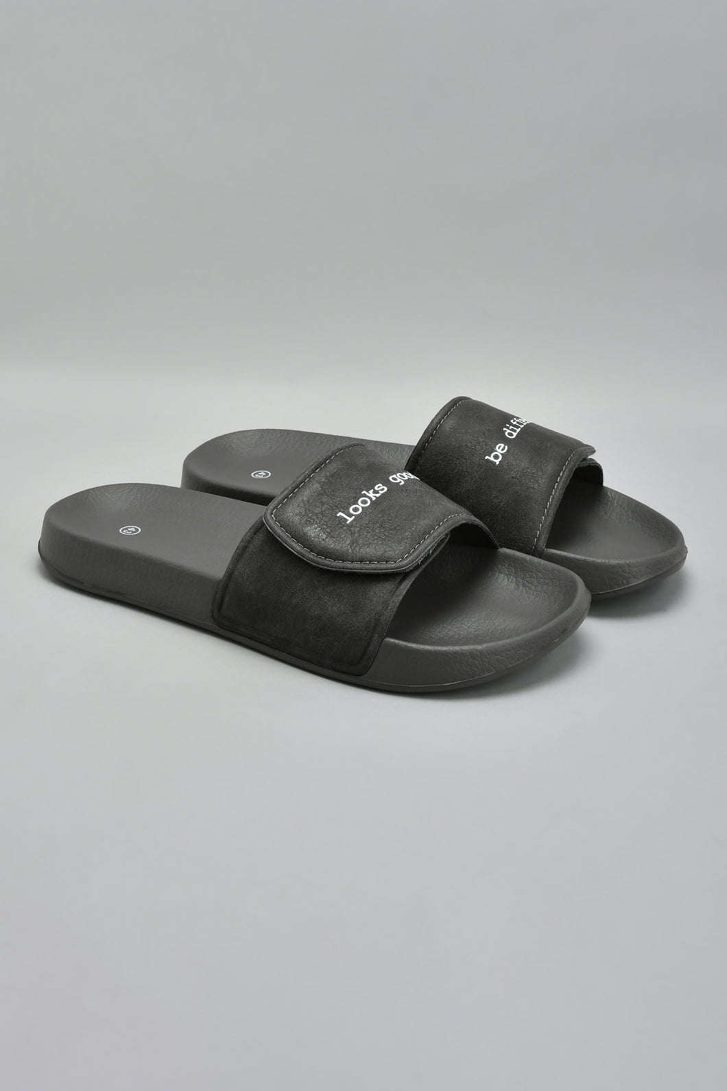 Grey Velcro Slide