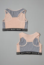 Load image into Gallery viewer, Pink Sports Bra (2-Pack)