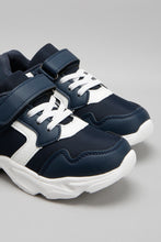 Load image into Gallery viewer, Navy Chunky Sneaker