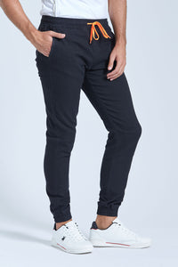 Black Elasticated Waist Jogger Jean