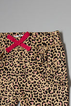 Load image into Gallery viewer, Leopard Print And Pink Joggers (2 Pack)