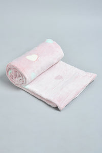 Pink Heart Kids Blanket