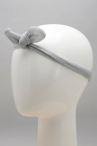 White/Grey Polka Hair Band (Pack of 2)