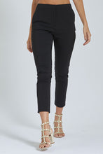 Load image into Gallery viewer, Black Slim-Fit Trouser
