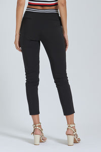 Black Slim-Fit Trouser