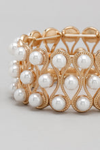 Load image into Gallery viewer, Gold Beaded Bracelet (Set of 3)
