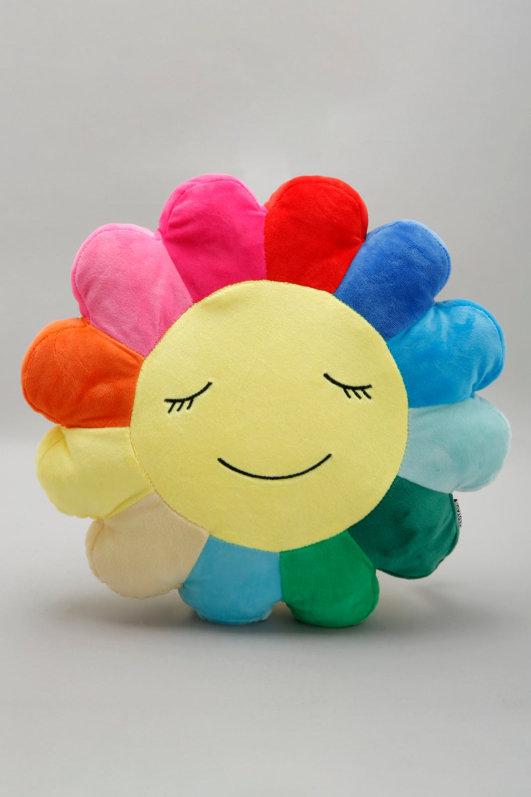 Multicolour Flower Shape Kids Cushion