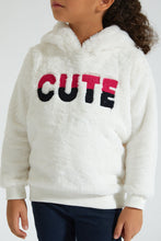Load image into Gallery viewer, White Cute Fluppy Sweatshirt
