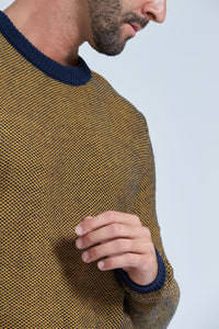 Yellow Crew Neck Jumper
