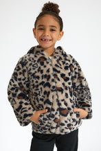 Load image into Gallery viewer, Brown Animal Fur Jacket