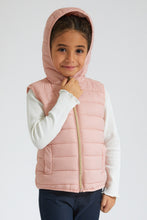 Load image into Gallery viewer, Pink Vest Padded Jacket