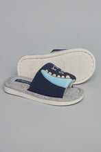 Load image into Gallery viewer, Navy Character Indoor Slipper